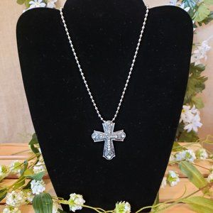 Jewelry - Silver Cross Necklace